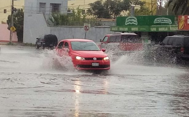 Vuelven lluvias, prevén hasta 75 milímetros de caída en la ciudad