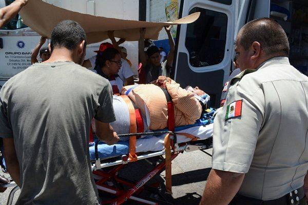 Tráiler atropellan a motociclista en la coloina Los Pinos