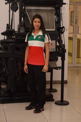 Cynthia García asiste a su cuarto mundial en hockey
