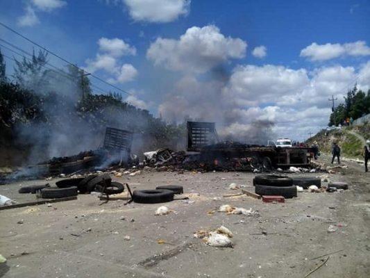 Domingo de enfrentamientos e ingobernabilidad en Oaxaca