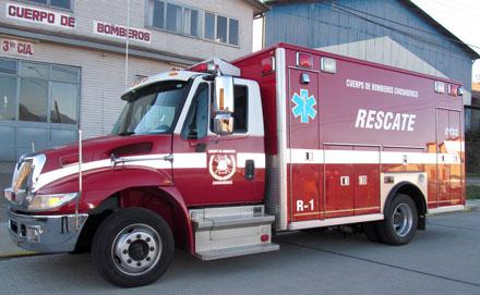 No llegan a Cuauhtémoc  dos bomberas donadas y una ambulancia