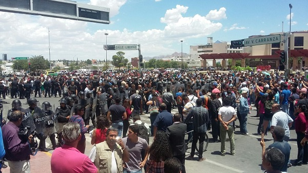 Más de cien detenidos y un mínimo de 18 heridos es el saldo de la manifestación