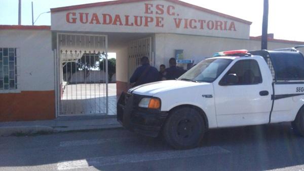 Delincuentes entran a escuela a robar en Jiménez