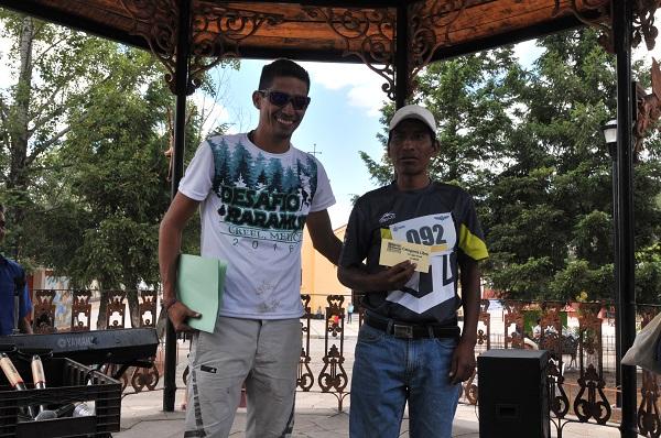 Silverio Ramírez se lleva el primer lugar en los 10 kilómetros