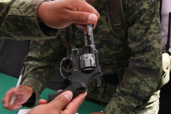 Convocan a la ciudadanía a canjear sus armas de fuego