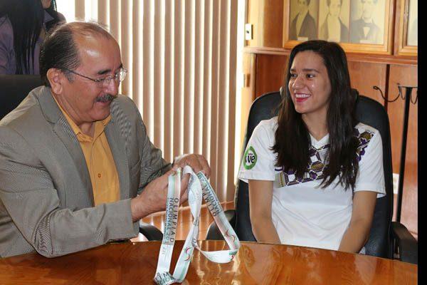 Agradece raquetbolista Abril Daniela Sacristán apoyo recibido