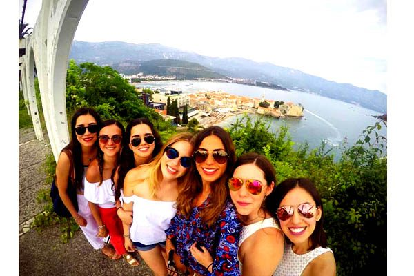 #Selfies en cada momento