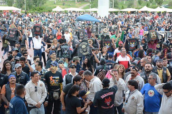 Ante 2 mil motociclistas realizan inauguración del 7° Union Biker Fest