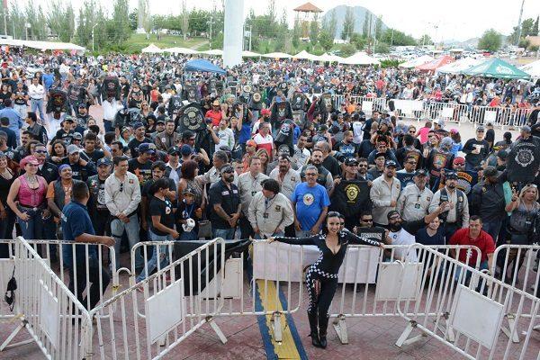 Ante dos mil motociclistas realizan inauguración del séptimo Unión Biker Fest
