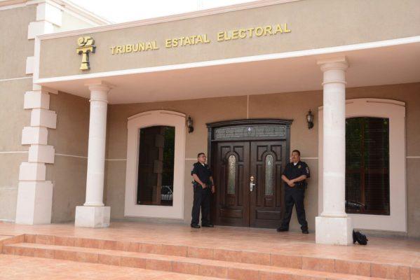 Comienza la sesión en el Tribunal Estatal Electoral que resolverá impugnación del PRI