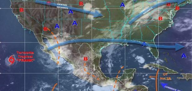 Pronostican lluvias moderadas a fuertes para hoy en la ciudad