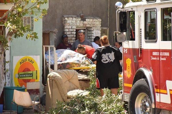 Crónica del  fallido rescate de  joven de 300 kilos