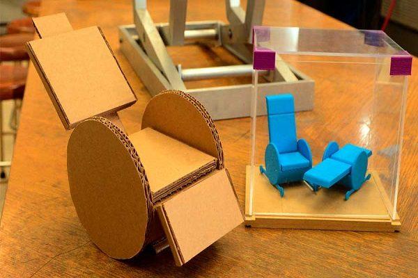 Diseñan en la UNAM una silla ortopédica para adultos mayores