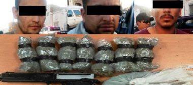 Detienen a ocho presuntos narcomenudistas en la ciudad