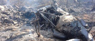Muere chihuahuense al desplomarse avioneta en Durango
