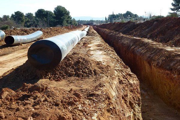 Gestiona la IP terminal del gasoducto para esta región