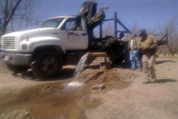 Quince días sin agua en seis colonias; colapsa pozo en las Águilas