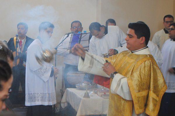 Misa especial en el templo de Nuestra Señora del Carmen