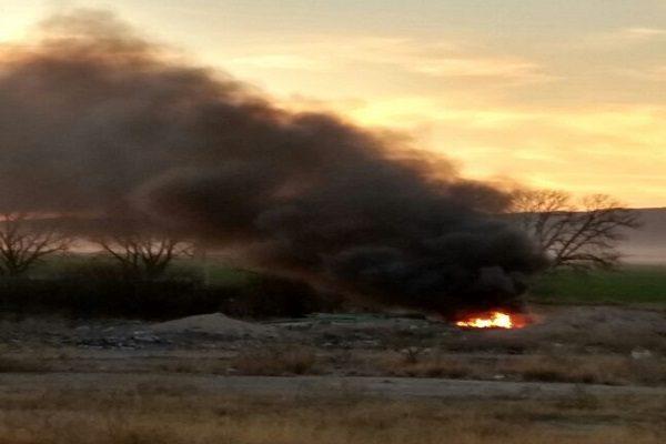 Incendio de cintilla causa gran movilización
