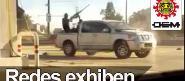 [VIDEO] Fuertes imágenes de un enfrentamiento en Sinaloa