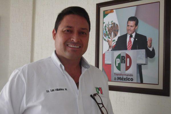 Renuncia Luis Villalobos a presidencia del PRI municipal
