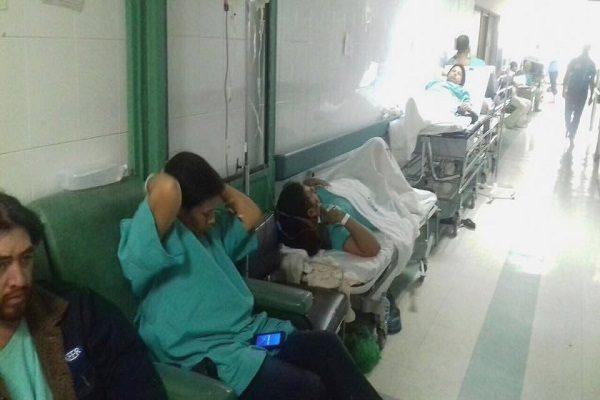 Queda rebasado en 80% servicio en Urgencias IMSS