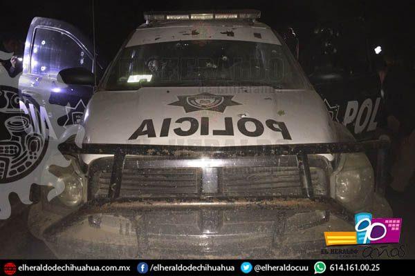 Emboscan vehículo donde trasladaban la nómina del Ejido Largo Maderal