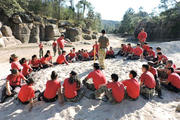 Realiza Rescate Juvenil Deportivo campamento Invernal 2017