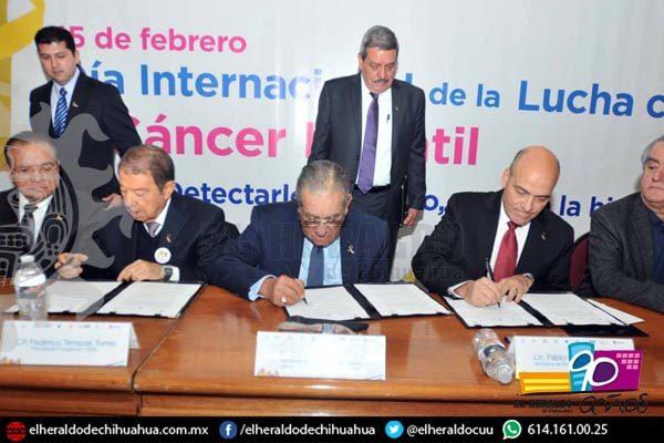 Se une Fundación Cima y Gobierno para combatir el cáncer infantil