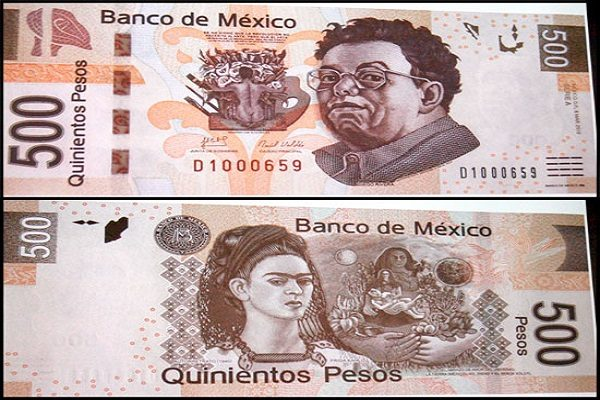 Circulan billetes falsos de 200 y 500 pesos
