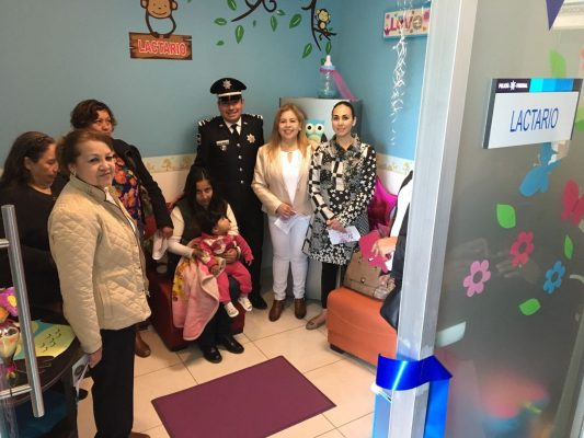 Inaugura Policía Federal Lactario para personal