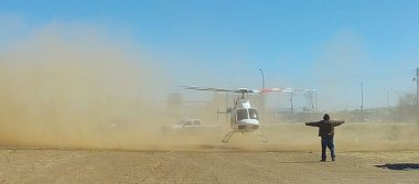 Realizan operativo por aire y tierra en poblados de Cuauhtémoc