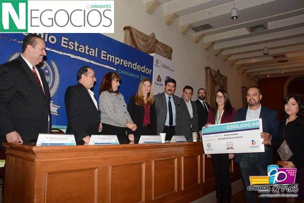 Gana Proyecto Glucos Alarm Premio Estatal Emprendedor 2016