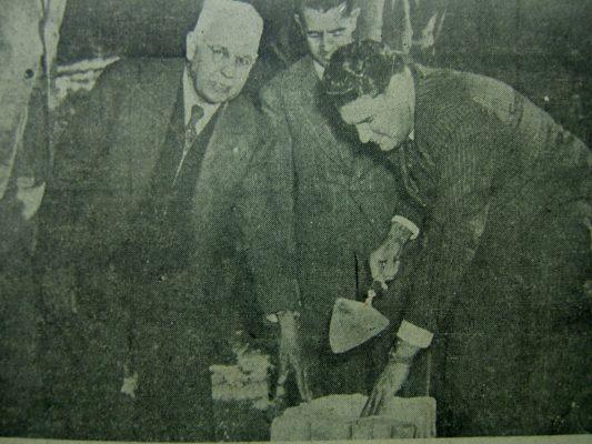 Inauguración de la Casa Salud, hoy Hospital Neuropsiquiátrico de Chihuahua (1946)