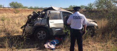 Un muerto y cinco lesionados en volcadura a Juárez