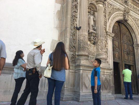Permanecen palomas muertas en Catedral