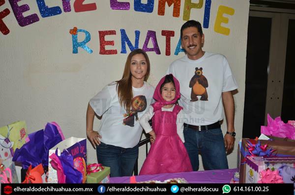 Divertida fiesta para Renata Rodríguez