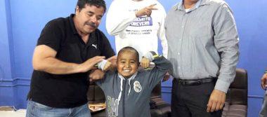 Lucha AAA por la vida del pequeño Manuel Escobedo