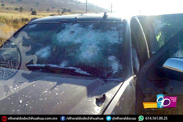 [GALERÍA] Impactantes imágenes de camionetas blindadas luego del ataque