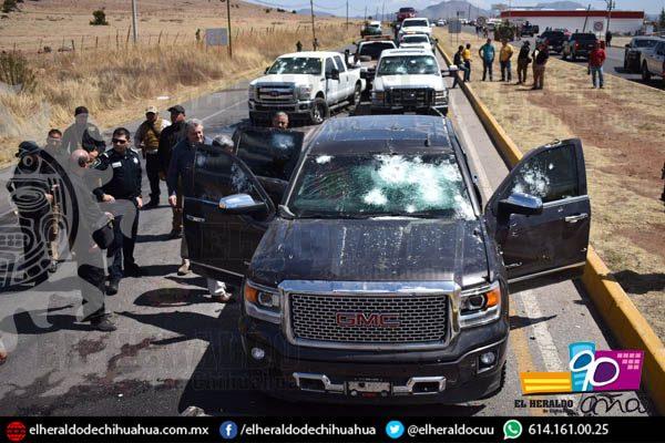 Deja enfrentamiento 8 muertos y 14 vehículos decomisados