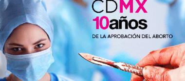 Registra Ciudad de México 170 mil abortos en 10 años