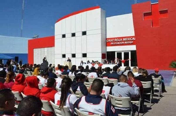 Brindará servicio médico Cruz Roja de Meoqui