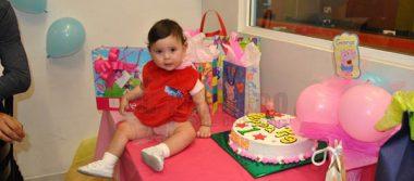 Divertido festejo en honor a Liah Valenzuela