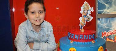 Fernando Almuina Gonzalez Cumplió 7 años