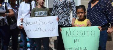 Afecta Pensiones a 200 niños con despido de especialista