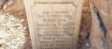 Histórico hallazgo en Parral dentro de finca demolida