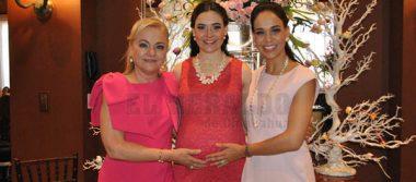 María Elena de López será mamá
