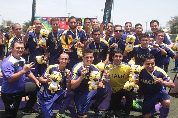 Universiada Nacional 2017 cierre dorado