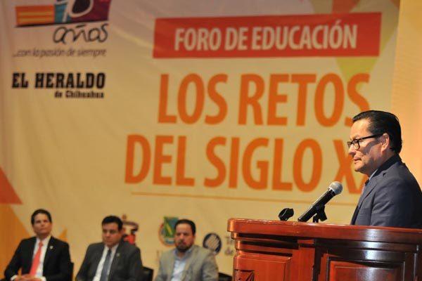 """Inicia el Foro de Educación """"Los Retos del Siglo XXI"""""""