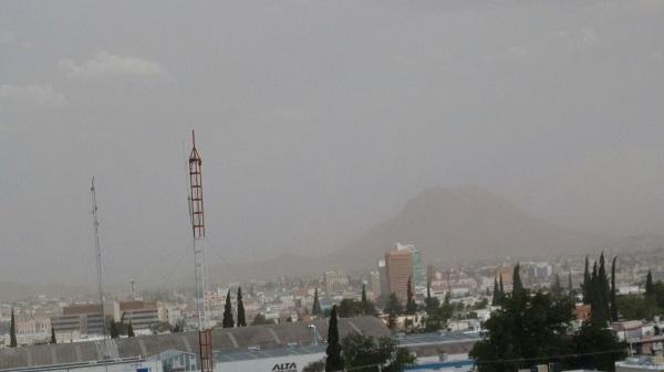 ALERTA; tormenta de tierra en Chihuahua